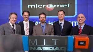 Micromet rings the bell